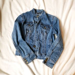 A.n.a denim jacket petite small